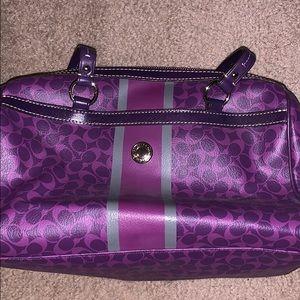 Coach Barrel Handbag